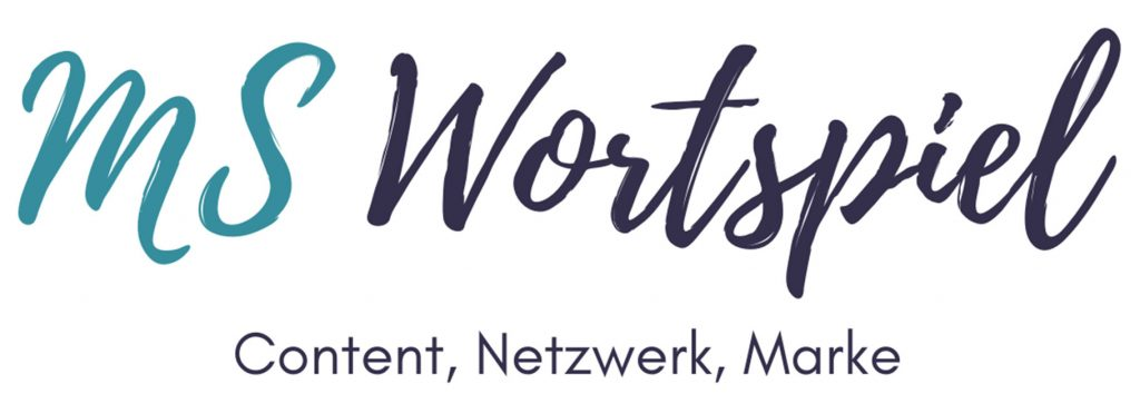 MS Wortspiel - Content, Netzwerk, Marke
