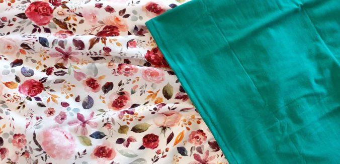 Sommerrock und Kimono-Tee