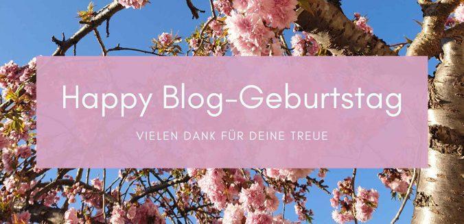 Happy Blog-Geburtstag! Vielen Dank für Deine Treue!