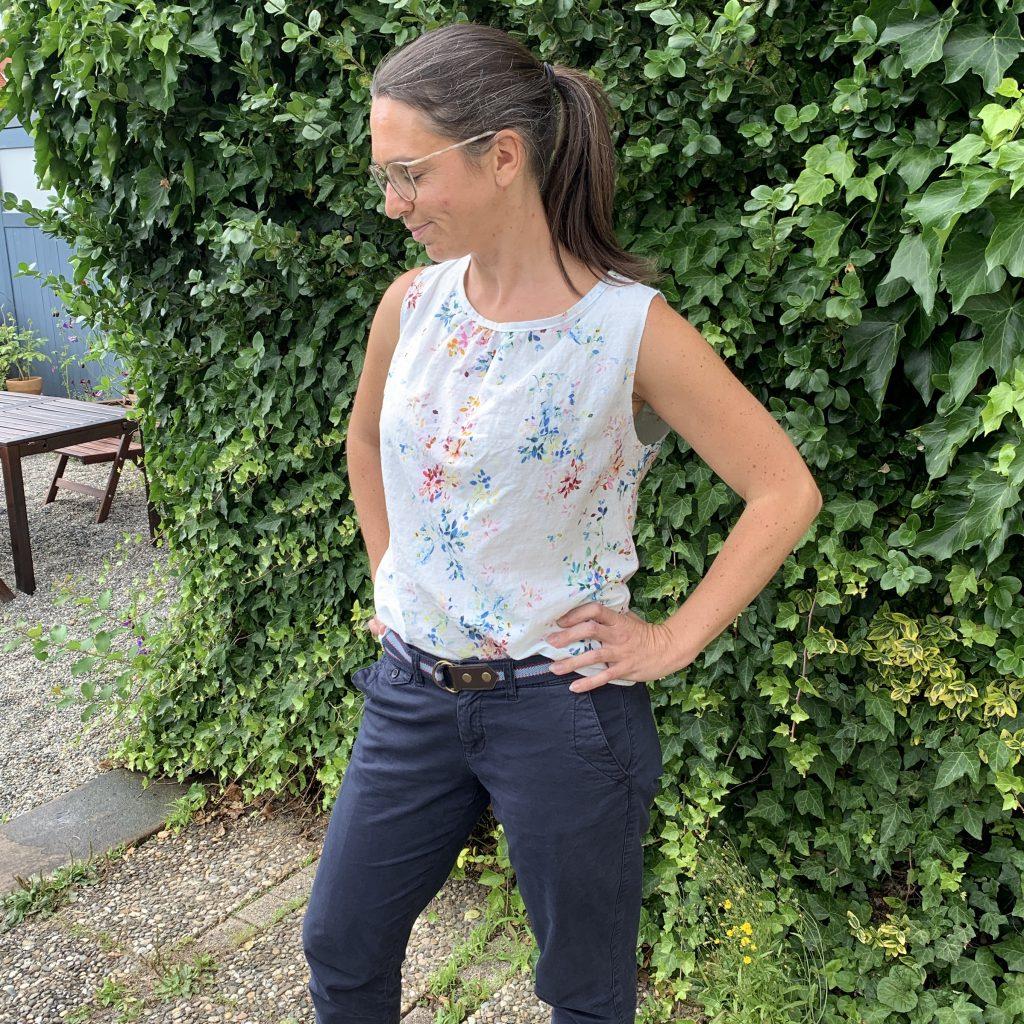 Frau Clara von Studio Schnittreif - Foto-Shooting will gelernt sein.